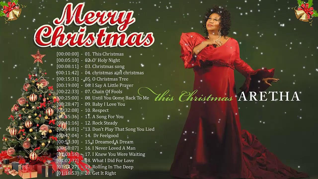 Franklin Christmas 2021 Aretha Franklin Christmas Songs Aretha Franklin Christmas Album 2021 Old Christmas Music Playlist Youtube