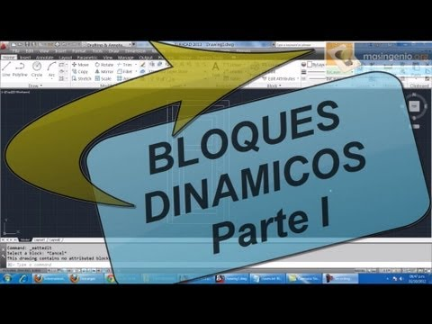 PDF DINAMICOS AUTOCAD BLOQUES