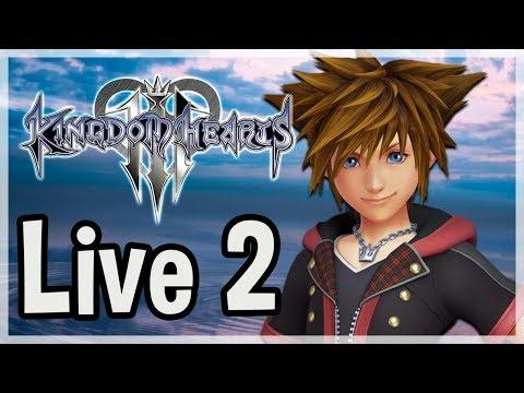 Objectif 100% - Live 2 - Kingdom Hearts 3 [de 20h30 à environ 1h du mat']