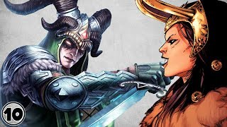 Top 10 Alternate Versions Of Loki