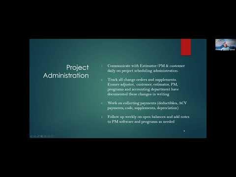 Project Coordinator Training