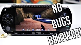 No Bugs Allowed PSP Homebrew Game - First Person Quake Shooter!