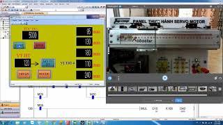 Điều Khiển Vị Trí Servo Trên PLC FX-3U (Chạy Lần Lượt 5 Vị Trí Cho Trước)