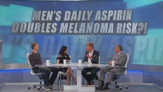 Does a Daily Dose of Aspirin Increase Melanoma Risk in Men?