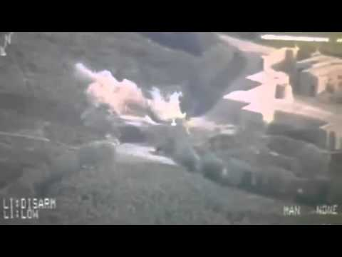 Airstrikes on Taliban insurgents (Compilation)