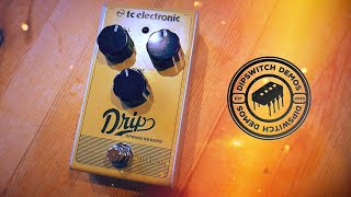 TC Electronic Drip Spring Reverb (Demo)