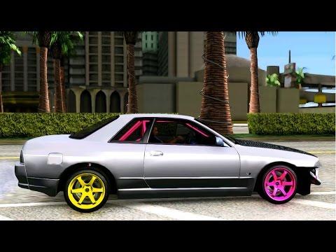 GTA San Andreas Nissan Skyline R32 Drift | Mods/Modification