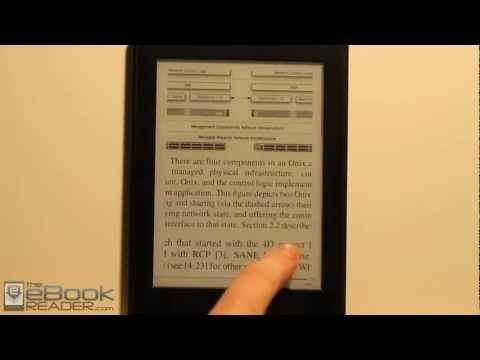 Kindle Paperwhite PDF Review