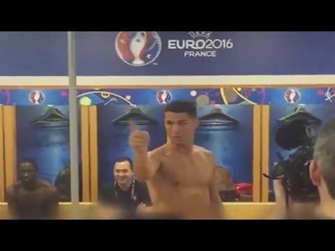 Cristiano Ronaldo Motivate Players after Final EURO 2016~Portugal vs France 1:0 UEFA EURO 2016