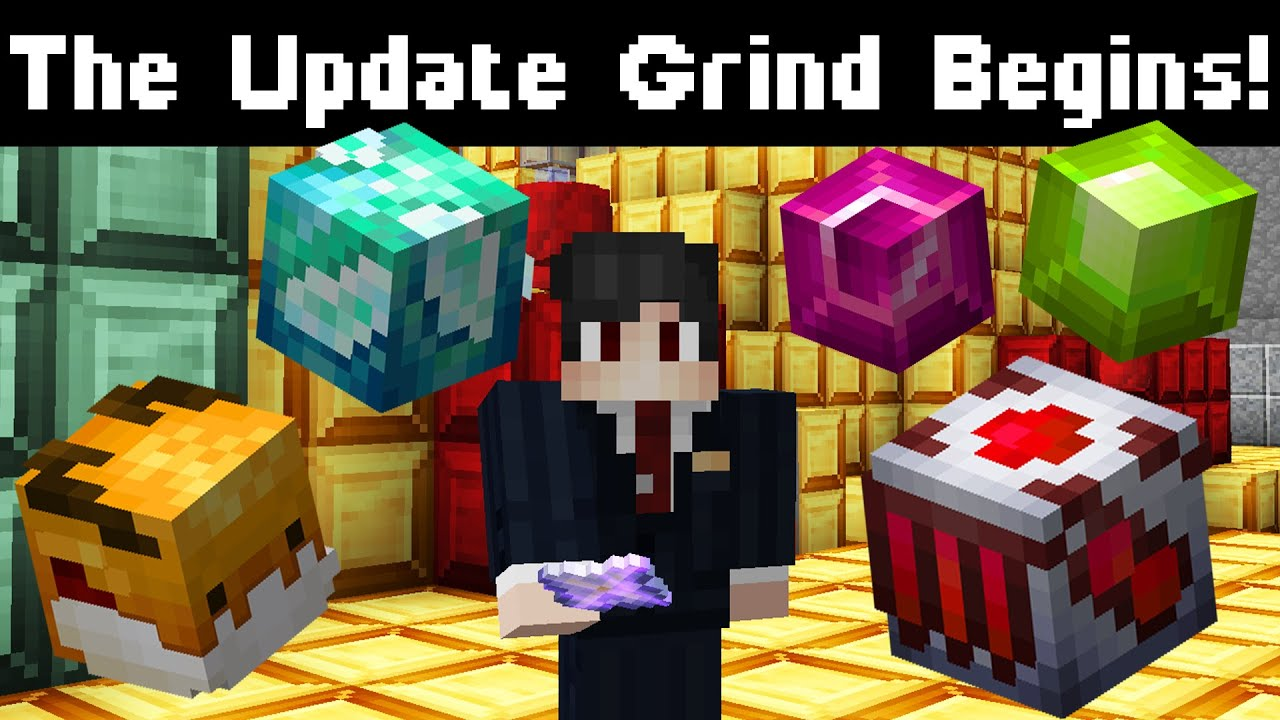 The Update Grind Begins (Crystal Hallows)   Hypixel Skyblock