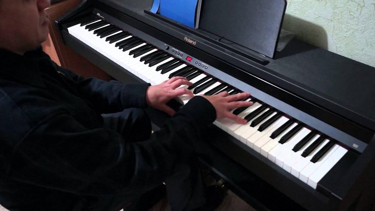 последний час декабря ноты для фортепиано