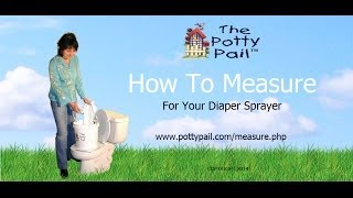 How to Measure for a Diaper Sprayer