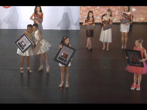 Announcement of Female Mini Best Dancer at The Dance Awards New York 2015