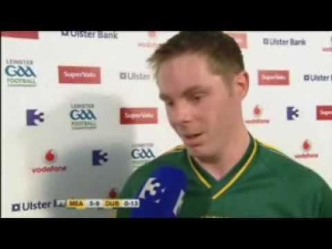 Stephen Bray singing the praises of Paddy O'Brien