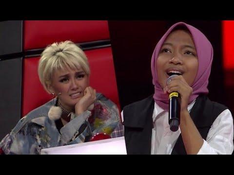 Lantunan Sholawat Sharla Bikin Agnez Mo Melongo [The Voice Kids Indonesia 2017]