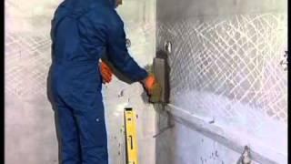 Укладка керамической плитки на стену(, 2011-08-22T10:20:47.000Z)