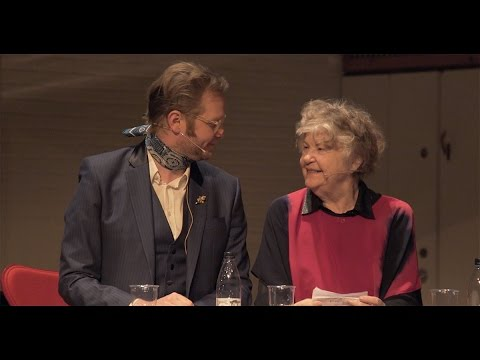 Ragnar Kjartansson on Stage with his Mother