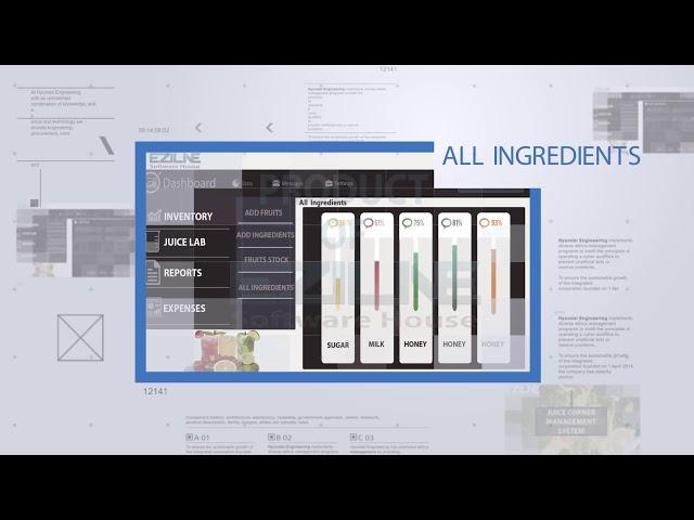 Eziline: Juice Manufacturer management System