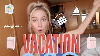 VLOG 13: Going on Vacation (with my Boyfriend's Family)