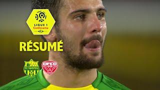 FC Nantes - Dijon FCO ( 1-1 ) - Résumé - (FCN - DFCO) / 2017-18