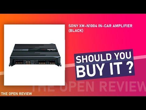 Sony XM-N1004 In-Car Amplifier (Black)