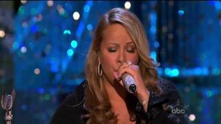 Mariah Carey O Holy Night Live ABC Christmas
