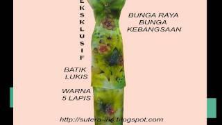 Batik Terengganu Sutera Iris.avi