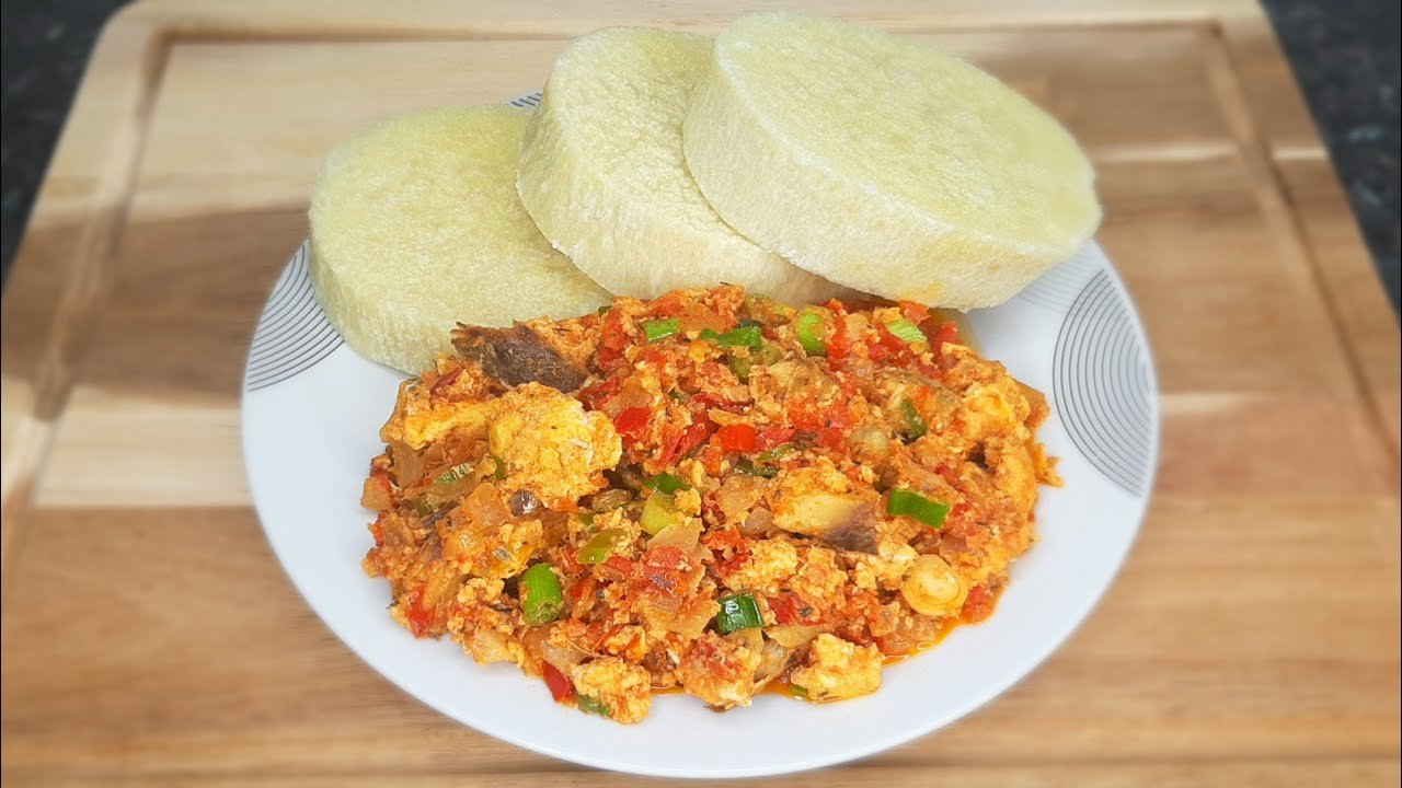 Perfect Egg Stew With Boiled Yam | Delicious! - YouTube