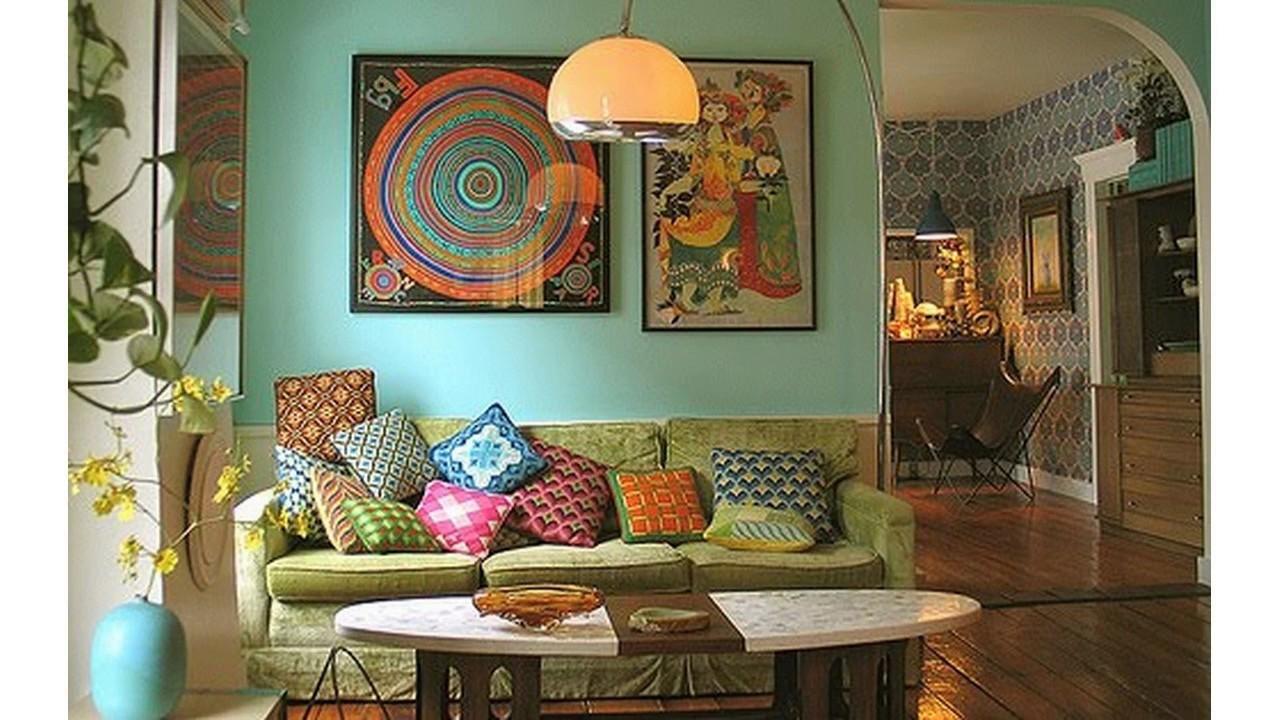colourful living room design ideas - Colourful Living Room