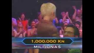 Tko želi biti milijunaš 2003. - Mira Bičanić osvaja milijun kuna