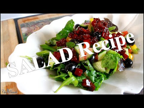 Salad For The Day Weight Loss Salad Recipe | Chef Ricardo Cooking