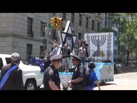 Salute To Israel Day Parade Part XII --Govt Of Isreal Marches -- On Sunday May 31, 2015