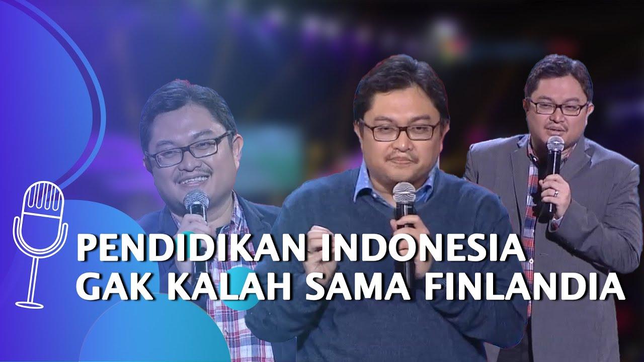 Kompilasi Stand Up Irvan Karta: Pendidikan Indonesia Gak Kalah Sama Finlandia - SUCI 6