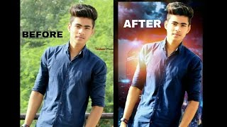Cb Editing Tutorial By Picsart Alon Boy Stand On Building best Manipulation Editing