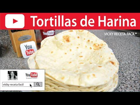 TORTILLAS DE HARINA | Vicky Receta Facil