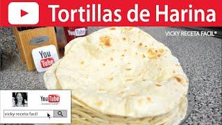 tortillas de harina vicky receta facil