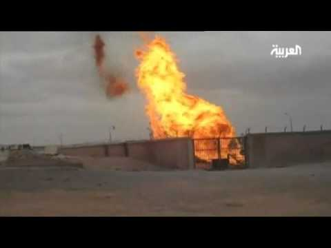 Egyptian pipeline blown up for the sixth time