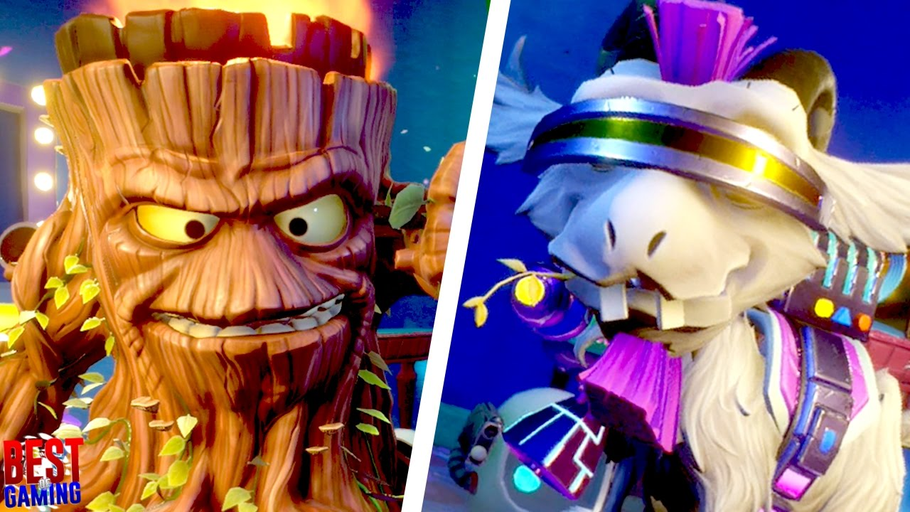 Plants Vs Zombies Garden Warfare 2 Torchwood And Hover Goat 3000 Super Rare Characters Youtube