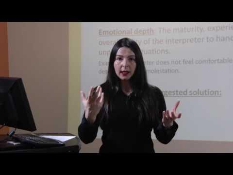 Challenges in Mental Health Interpreting