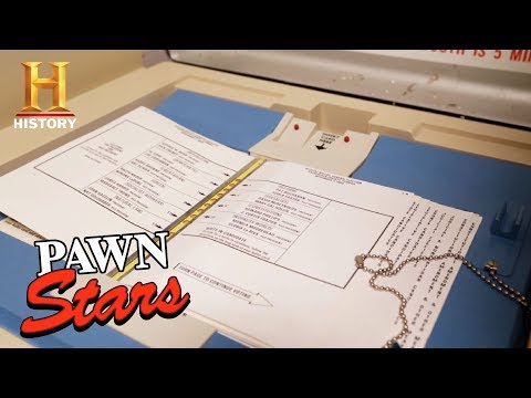 Pawn Stars: 2000 Presidential Election Voting Booth (Season 14)   History