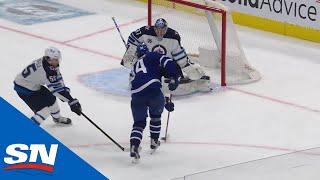 Auston Matthews Roofs Phenomenal Backhand OT Winner For Maple Leafs