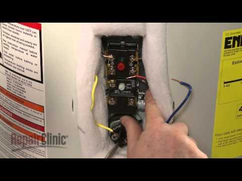 ao smith electric water heater wiring diagram 30 amp rv plug cambiando el termostato al calentador de agua | doovi