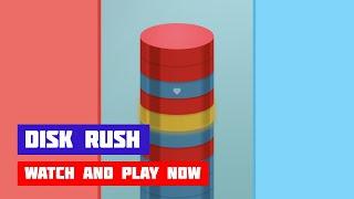 Disk Rush · Game · Gameplay