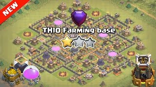 Clash of Clans ♦ TH10 Hybrid Base ♦ NEW UPDATE TH10 Hybrid Base with 2 Bomb Tower