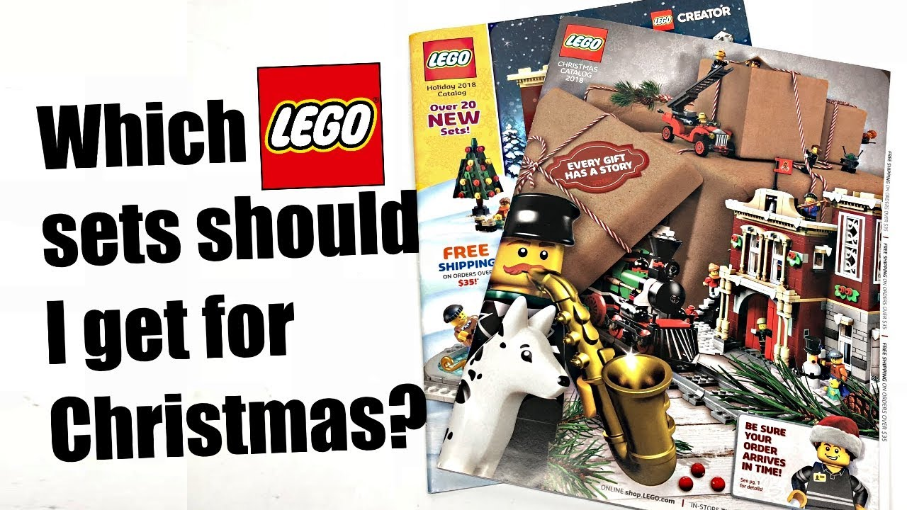 Which sets should I get for Christmas? LEGO Holiday 2018 Catalogs!