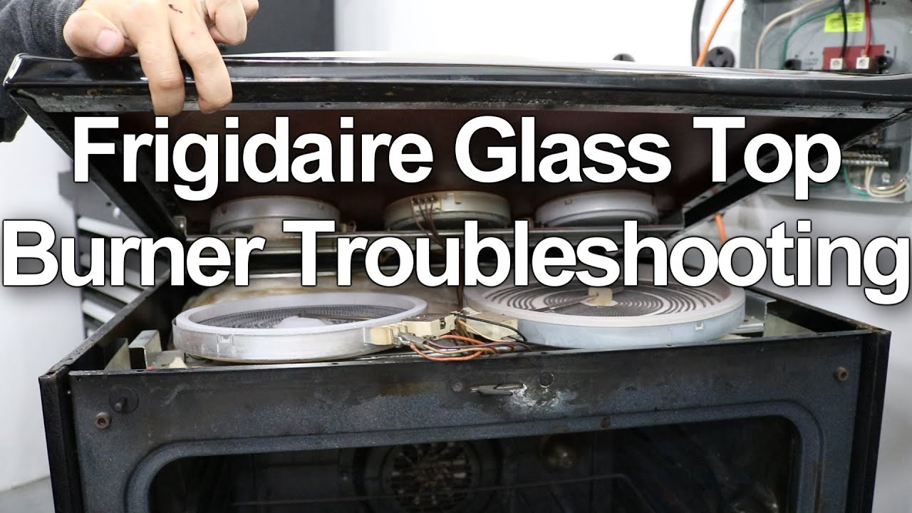Frigidaire Kenmore Stove Burner Element Replacement And Sears Smoothtop Wiring Diagrams Troubleshooting Youtube