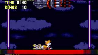 Hidden Super Tails Palette in Sonic the hedgehog 3 (Genesis) and mid-boss glitch