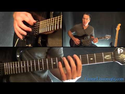 Metallica - Blackened Guitar Lesson (Chords/Riffs Part 2 - Harmony Section)