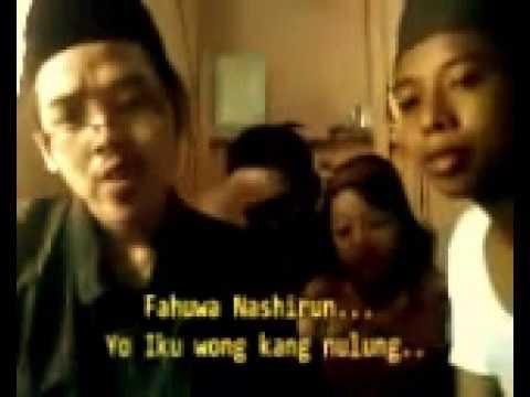 مضحك، من السهل تعلم قواعد اللغة العربية في إندونيسيا Santri Gemblung yang cerdas Belajar Tasrif
