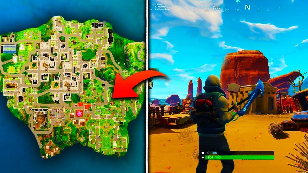 fortnite new map update